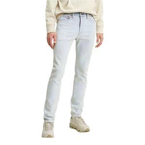 Levi's 510 Mens Size 29 x 30 Light Wash Melted ice